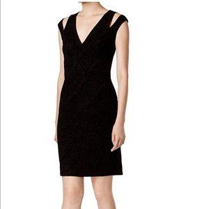 Calvin Klein Cold Shoulder Dress